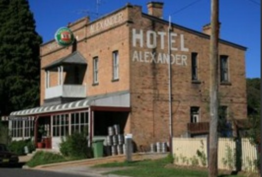 Alexander Hotel Rydal - Accommodation Redcliffe