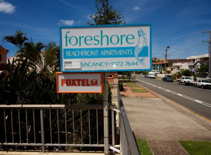 Foreshore Apartments Mermaid Beach