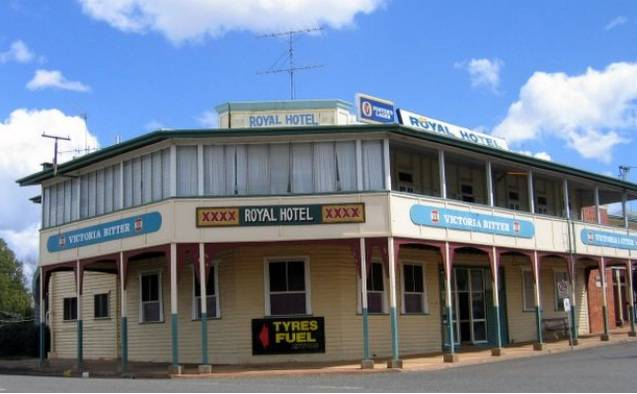 Royal Hotel Mundubbera - Accommodation Redcliffe