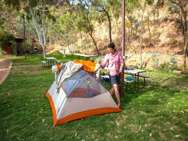 Standley Chasm Angkerle Camping - Accommodation Redcliffe