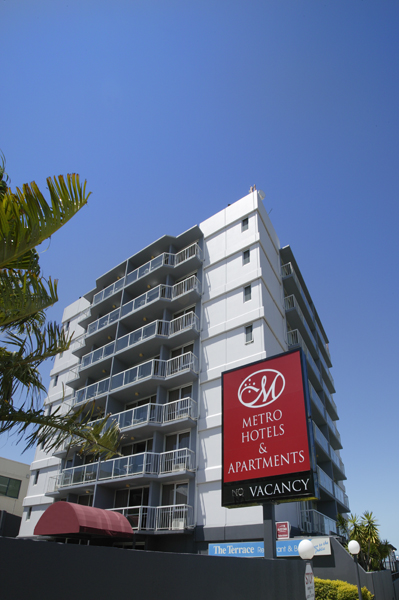 Metro Hotel  Apartments Gladstone - Accommodation Redcliffe