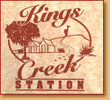 Kings Creek Station - Accommodation Redcliffe