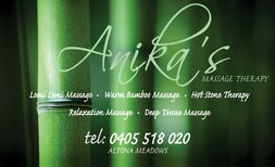 Anikas Massage Therapy - Accommodation Redcliffe