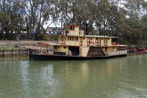 Emmylou Paddle Steamer - Accommodation Redcliffe