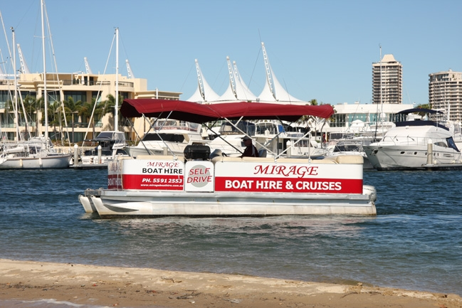 Mirage Boat Hire - Accommodation Redcliffe