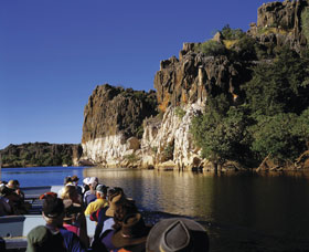 Geikie Gorge National Park - Accommodation Redcliffe