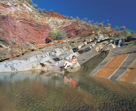 Hamersley Gorge - Accommodation Redcliffe
