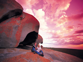 Remarkable Rocks Flinders Chase National Park - Accommodation Redcliffe