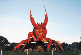 The Big Lobster - Accommodation Redcliffe