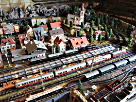 Tudor Court Model Village and German Model Train World - Accommodation Redcliffe