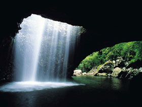 Natural Bridge Springbrook National Park - Accommodation Redcliffe