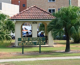 Bundaberg War Nurses Memorial and Park - Accommodation Redcliffe