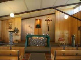 St Finbarrs Church - Accommodation Redcliffe