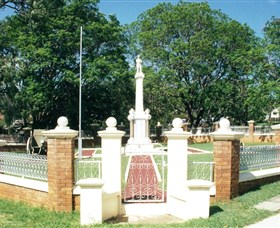Boonah War Memorial and Memorial Park - Accommodation Redcliffe