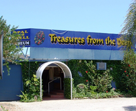 Treasures from the Deep - Opal and Shell Museum - Accommodation Redcliffe