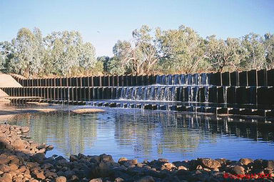 Allan Tannock Weir - Accommodation Redcliffe