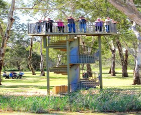 Darling and Murray River Junction and Viewing Tower - Accommodation Redcliffe
