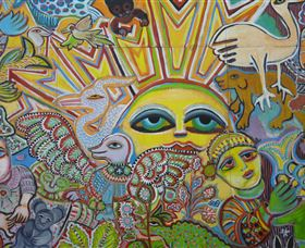 The Painting of Life by Mirka Mora