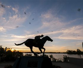 Black Caviar Statue - Accommodation Redcliffe