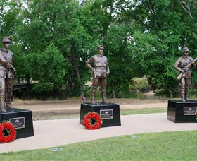 VC Memorial Park - Honouring Our Heroes - Accommodation Redcliffe