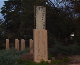 Milestones Sculptures in Cootamundra - Accommodation Redcliffe