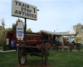 Train Stop Antiques - Accommodation Redcliffe