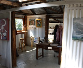 Tin Shed Gallery - Accommodation Redcliffe