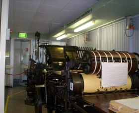 Queanbeyan Printing Museum - Accommodation Redcliffe