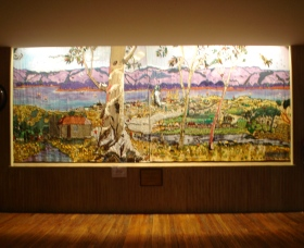 Adaminaby Memorial Hall Stage Curtain - Accommodation Redcliffe