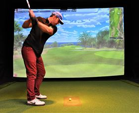 Par-Tee Virtual Golf - Accommodation Redcliffe