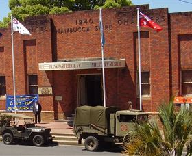 Frank Partridge VC Military Museum - Accommodation Redcliffe