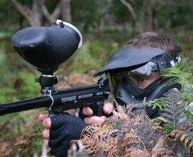 Tactical Paintball Games - Accommodation Redcliffe
