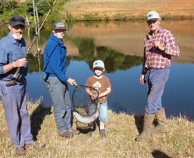 Natone Hills Fly Fishery - Accommodation Redcliffe