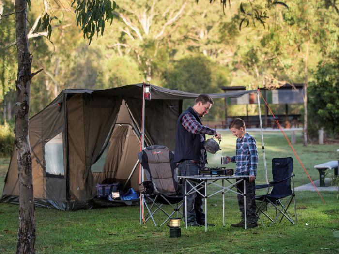 Hardings Paddock Campground - Accommodation Redcliffe