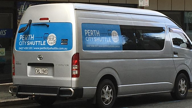 Shared Arrival or Departure Transfers - Airport to Perth City Hotel or viceversa - Accommodation Redcliffe
