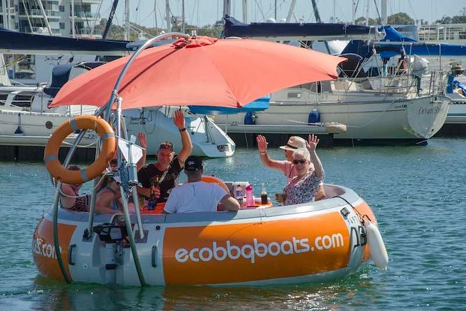 Self-Drive BBQ Boat Hire Mandurah - Group of 7 - 10 people - Accommodation Redcliffe