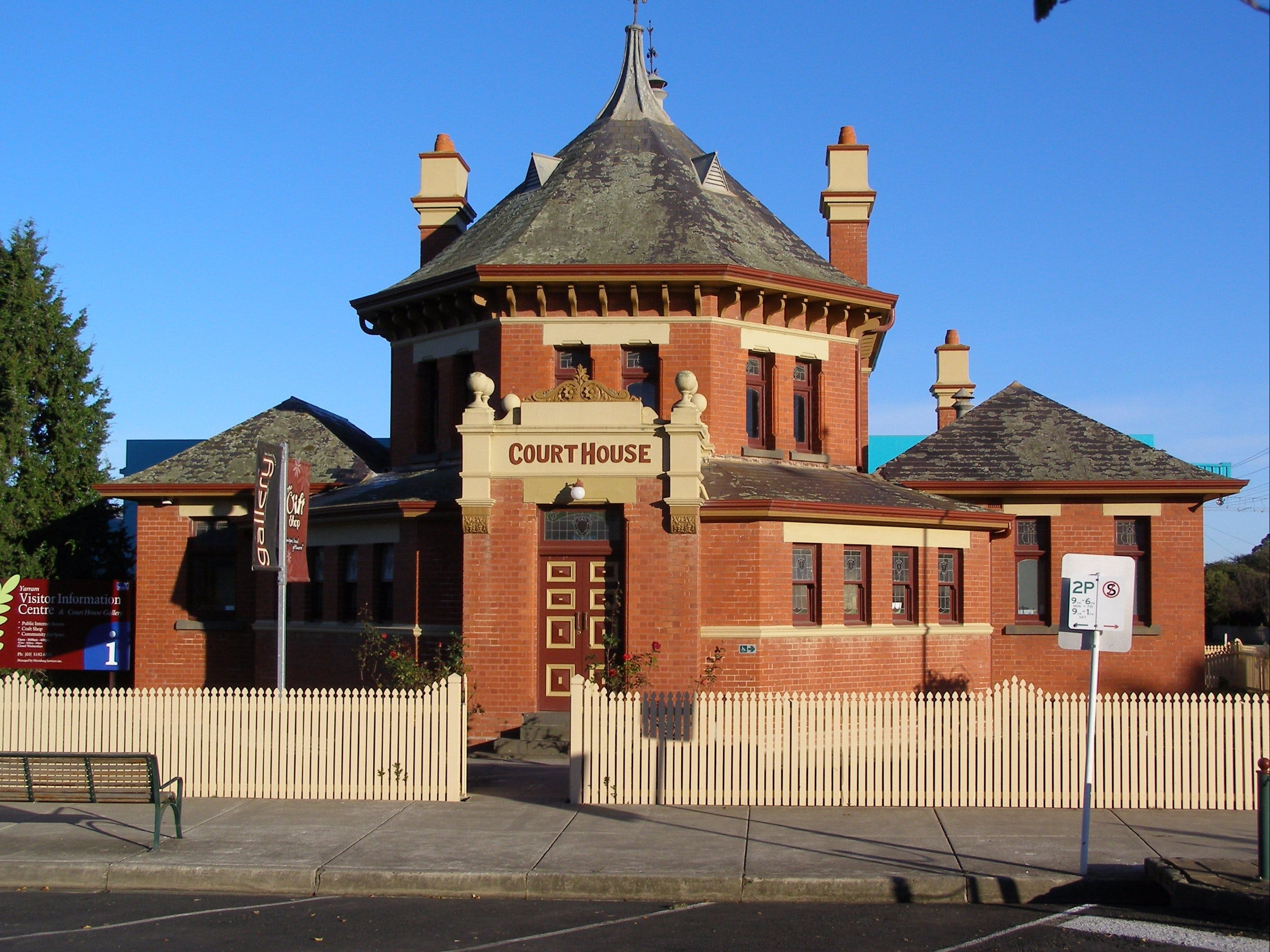 Yarram Courthouse Gallery - Accommodation Redcliffe