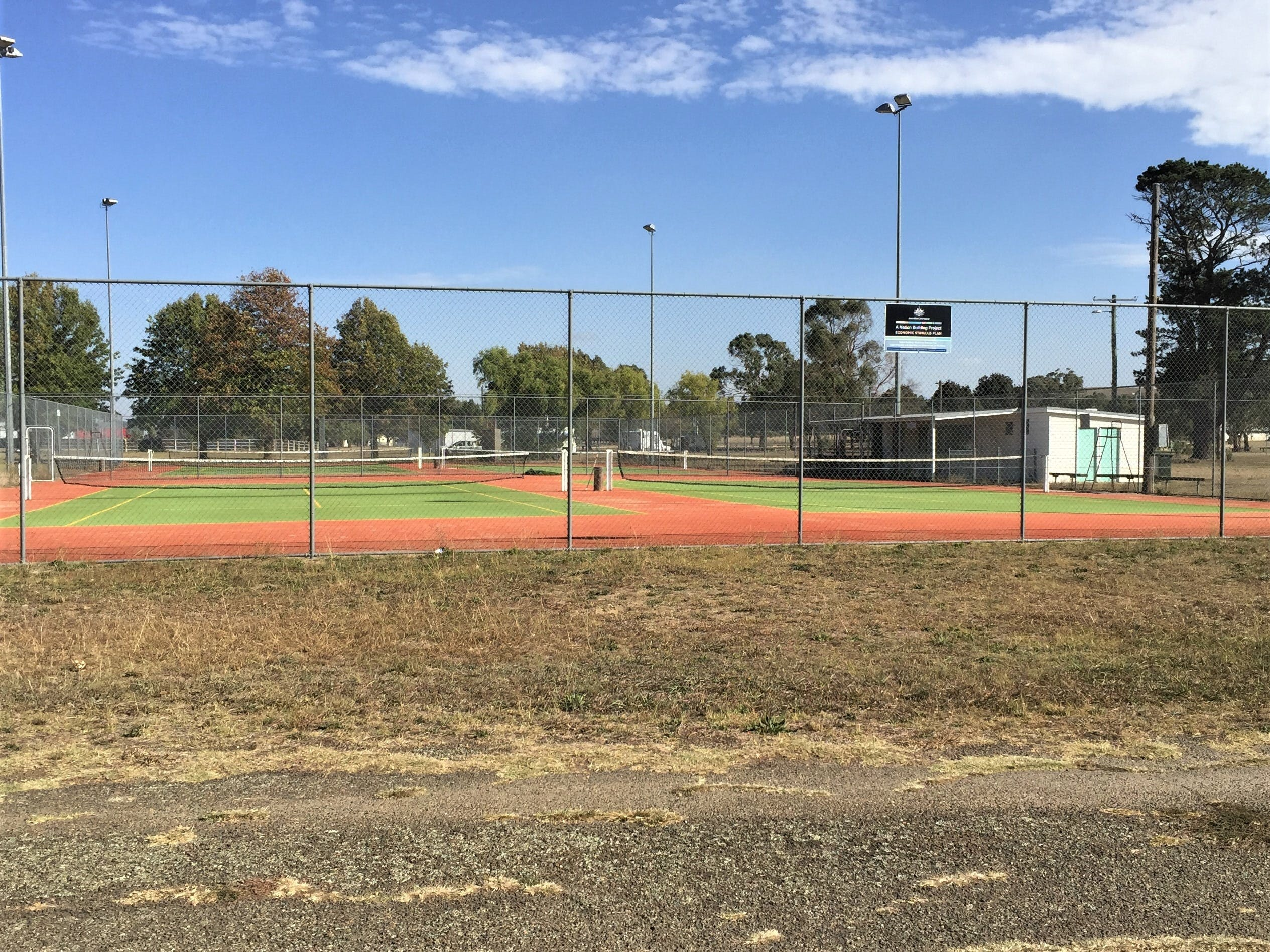 Gunning Tennis Courts - Accommodation Redcliffe