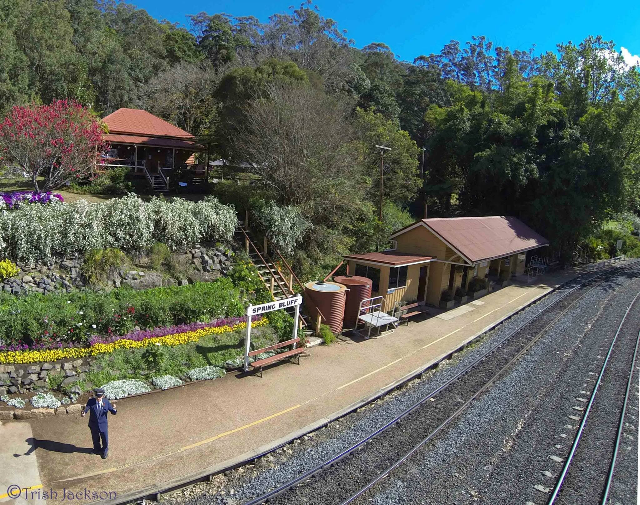 Spring Bluff Railway Station - Accommodation Redcliffe