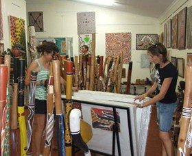Top Didj and Art Gallery - Accommodation Redcliffe