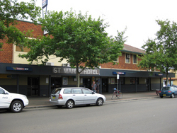 St Marys Hotel - Accommodation Redcliffe