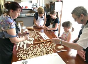 Kids Pasta Making Class - hands on fun at your house - Accommodation Redcliffe