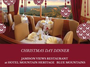 Christmas Day Dinner Hotel Mountain Heritage - Accommodation Redcliffe