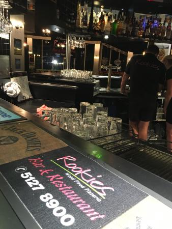 Rookies Pizzeria Bar  Grill - Accommodation Redcliffe