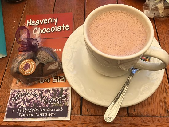 Stanthorpe's Heavenly Chocolate at Wisteria Cottage - Accommodation Redcliffe